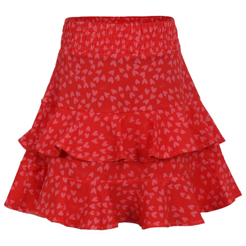 Little Miss Juliette Skirt Ruffles - Red