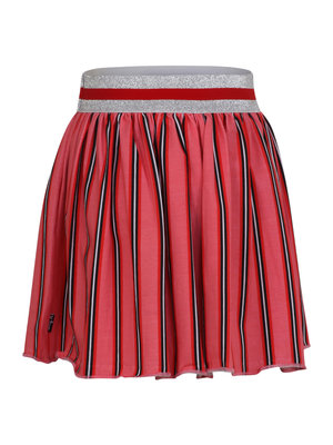 Little Miss Juliette Skirt Stripes - Pink