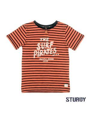 Sturdy T-shirt streep - Treasure Hunter