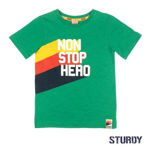 Sturdy T-shirt Non Stop Hero - Thrillseeker