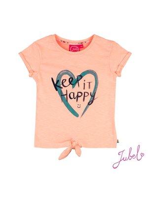 Jubel T-shirt Keep It Happy - Botanic Blush