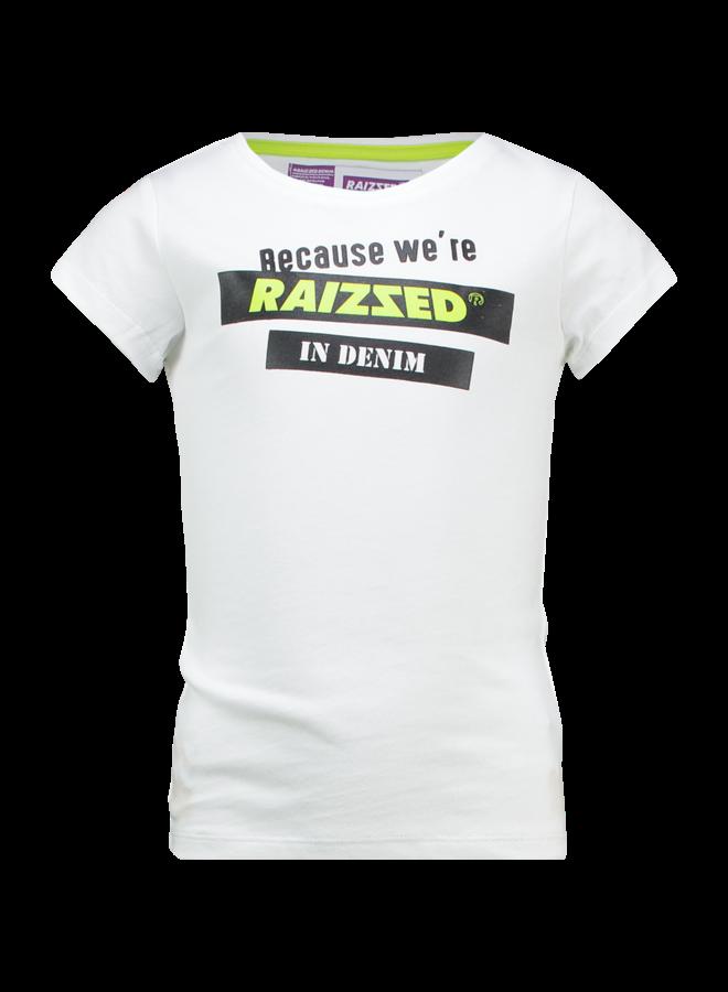Atlanta - T-shirt - Real White