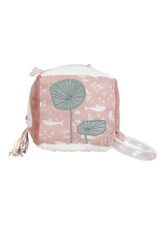 Activiteitenkubus Soft - Ocean pink