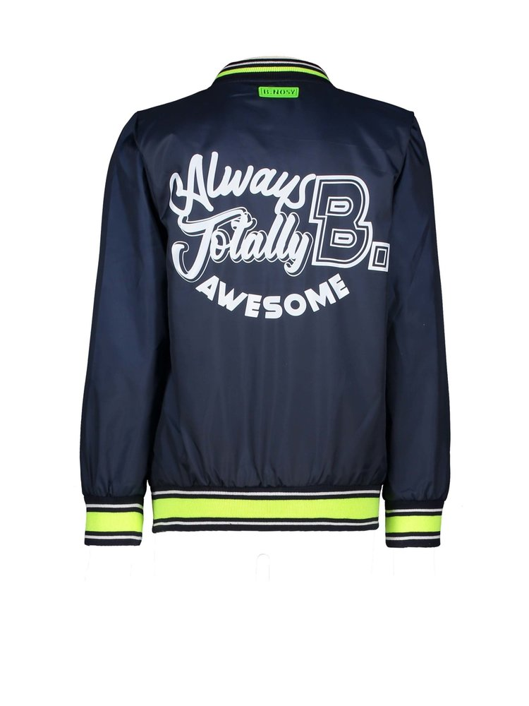 B.Nosy Boys jacket with patch on chest - Oxford blue