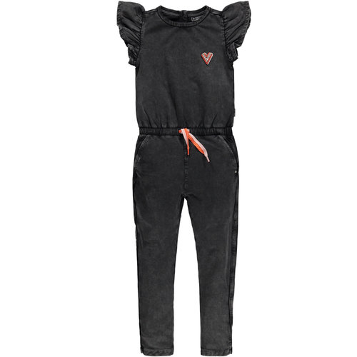 Tumble 'n Dry Mid Jumpsuit - Lilou - Graphite Grey
