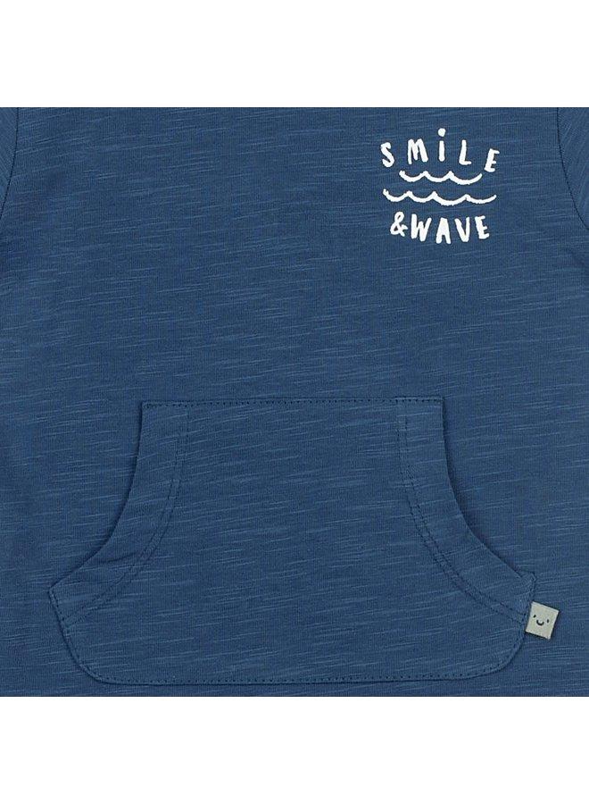 T-shirt - Smile & Wave - Marine