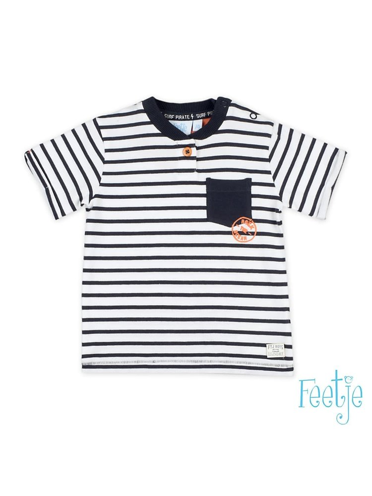 Feetje T-shirt streep - Treasure Hunter
