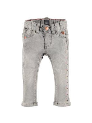 Babyface Girls jogg jeans slim fit - Light grey denim