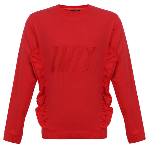 Little Miss Juliette Sweater LMJX - Red