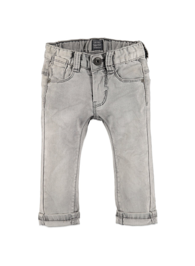 Boys jogg jeans - Light grey denim /