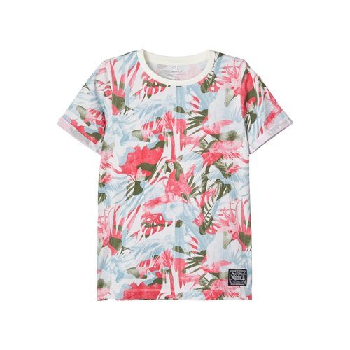 Name It Kids Francis - Short sleeve top - Bright White
