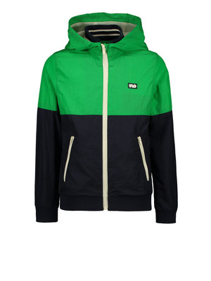 Like Flo Flo boys hooded colourblock jacket - Navy