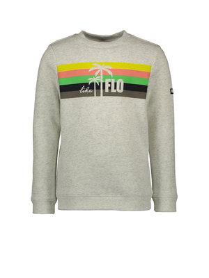 Like Flo Flo boys sweater divers - Ecru melee
