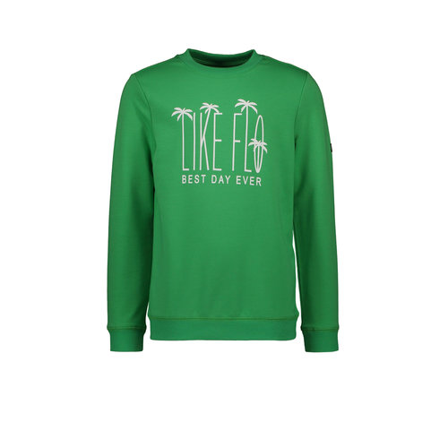 Like Flo Flo boys sweater divers - Green