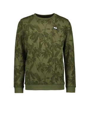 Like Flo Flo boys sweater divers - Olive Palm