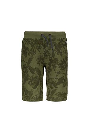 Like Flo Flo boys short sweat pants - Olive Palm