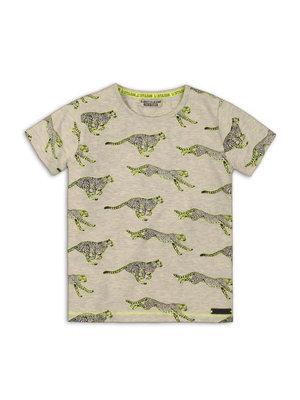 DJ Dutchjeans T-shirt Leopard AOP