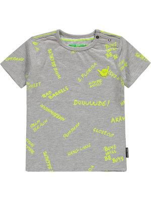 Tumble 'n Dry Low Tristiano - Ss T-shirt - Light Grey Melange