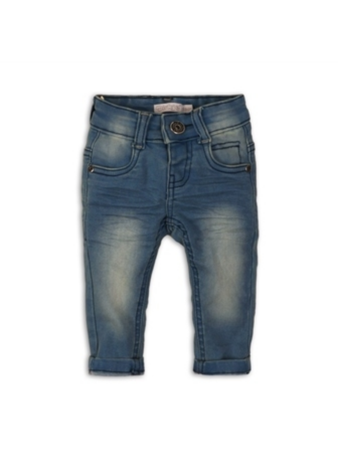 Baby jeans - Blue jeans - Washed