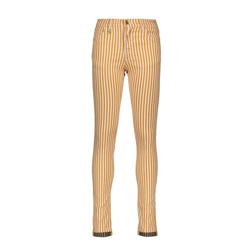 Street Called Madison Luna striped satin twill pants - Miss Luna