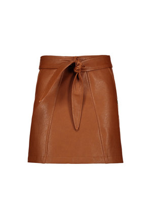 Street Called Madison Luna imi leather skirt - Mellow