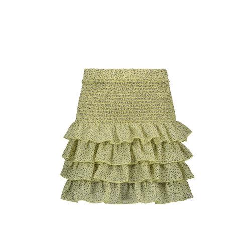 Street Called Madison Luna woven ruffle skirt - Lollypop