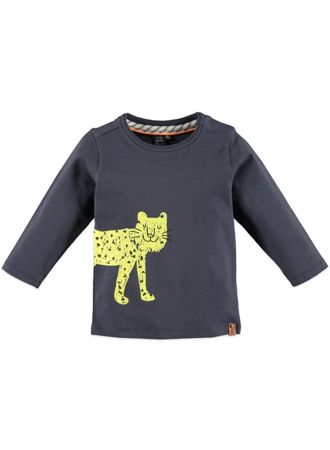 Boys t-shirt l.sl. - Leopard