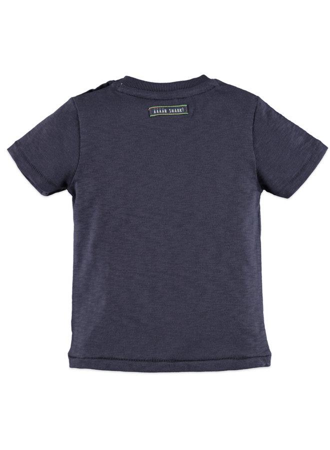 Boys t-shirt short sleeve - Ink  - Surf's up
