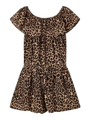 Name It Kids Vinaya - Playsuit - Leopard