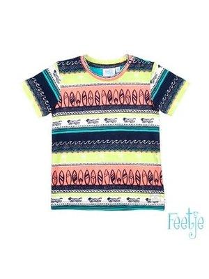 Feetje T-shirt AOP - Mini Wanderer