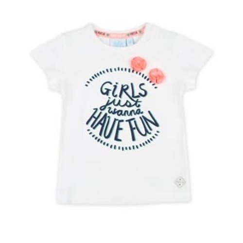 Feetje T-shirt Girls Just Wanna - Botanic Blush