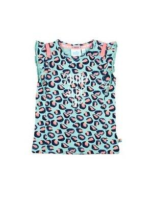 Feetje T-shirt AOP - Botanic Blush