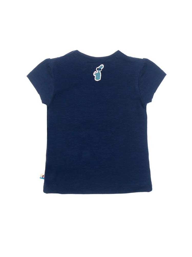 Feetje T-shirt Fiesta Siesta - Botanic Blush - Marine