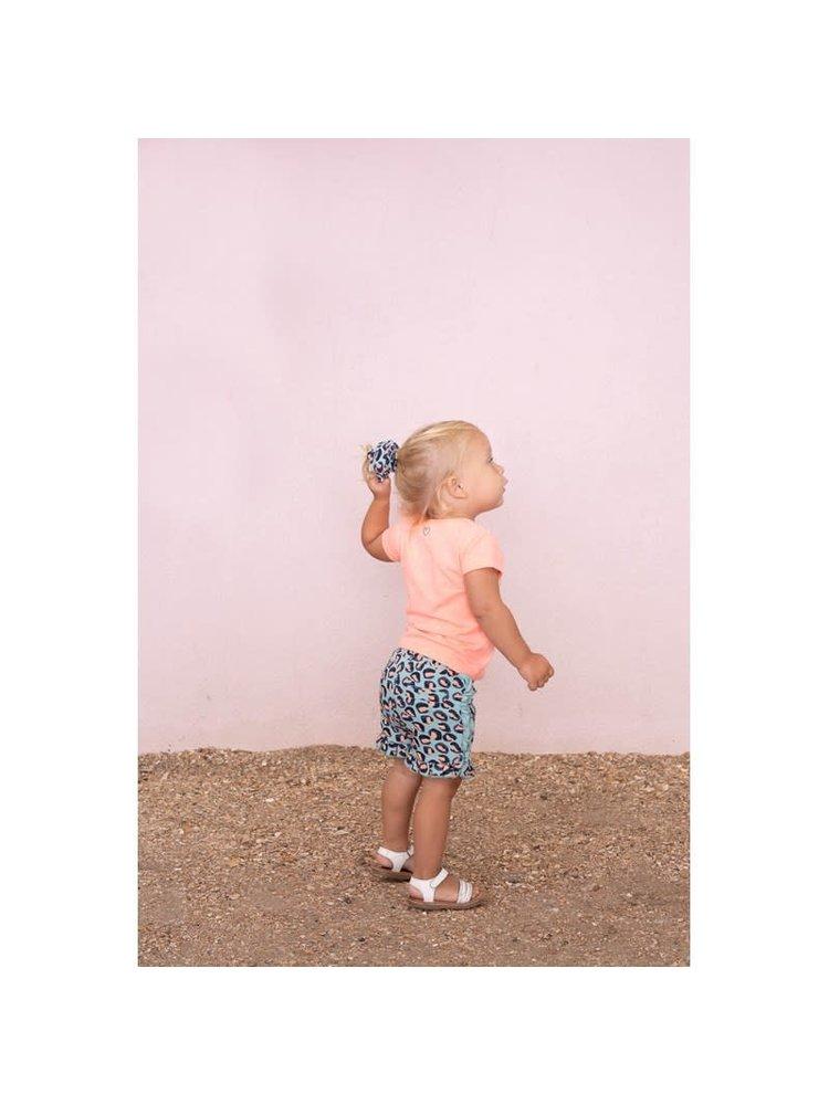 Feetje Short AOP - Botanic Blush