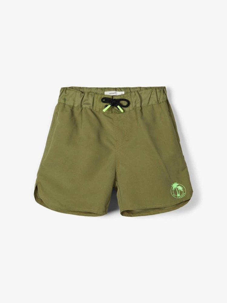 Name It Kids Zaco - Swimshort - Loden Green