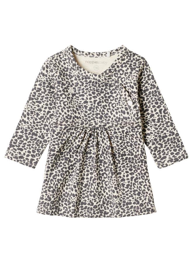 Dress ls Amazona AOP - Oatmeal