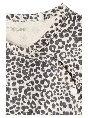 Noppies Dress ls Amazona AOP - Oatmeal