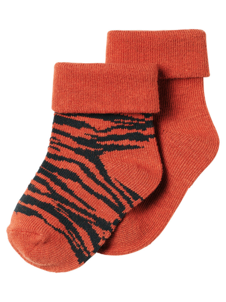 Noppies Socks 2 pack Blanquillo - Spicy Ginger
