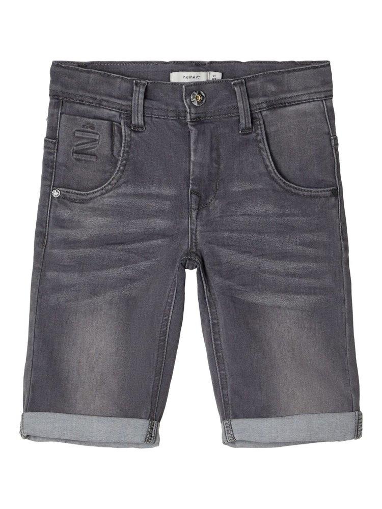 Name It Kids Theo - Long Shorts - Medium Grey Denim
