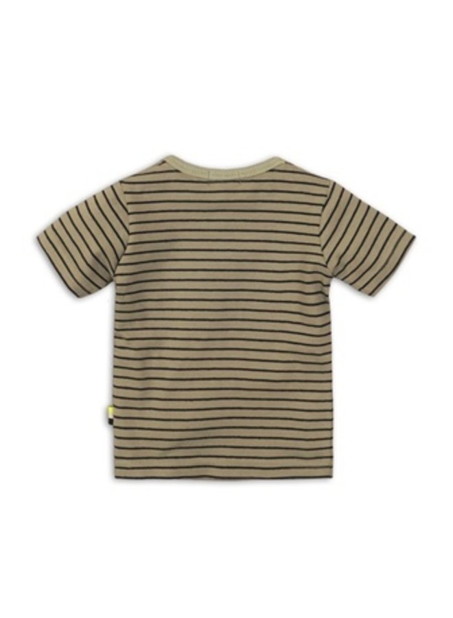 Baby t-shirt - Toucan stripe