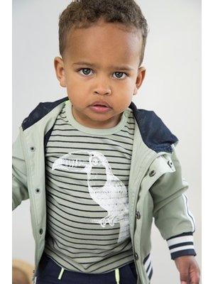 Dirkje Baby t-shirt - Toucan stripe