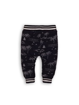 Dirkje Baby jogging trousers - Navy + aop