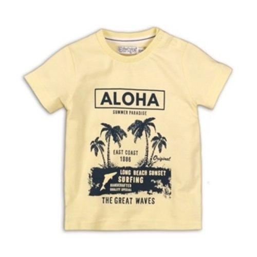 Dirkje Baby t-shirt - Light yellow