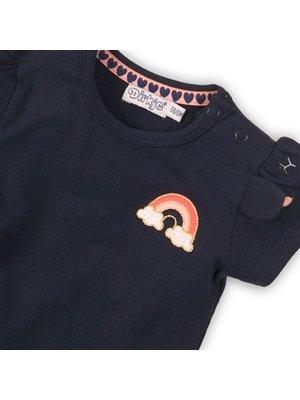Dirkje Baby t-shirt - Navy