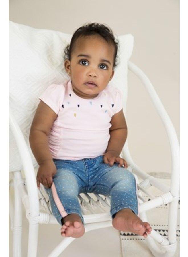 Baby t-shirt - Light pink