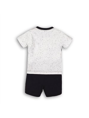 Dirkje 2 pce babysuit - Mint + white + navy
