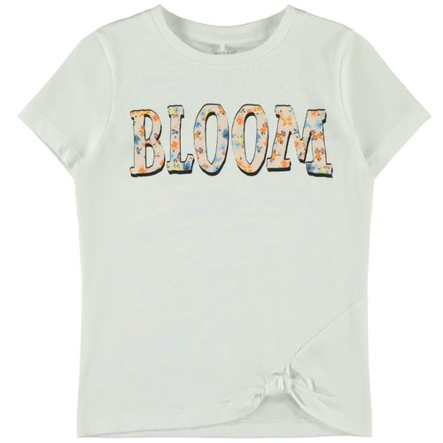 Name It Kids Helma - Short Sleeve - Bright White
