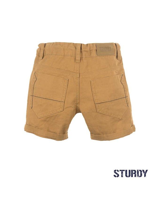 Chino short - Summer Denims - Camel