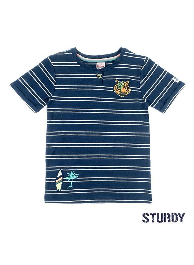 T-shirt streep - Wild Wanderer