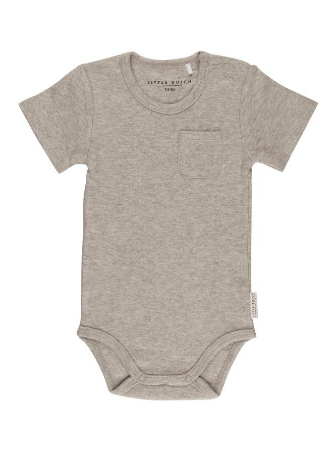 Romper korte mouw - Grey Melange